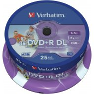 Verbatim 43667 DVD+R DL 8.5GB 25ks