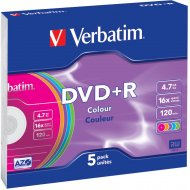 Verbatim 43556 DVD+R 4.7GB 5ks