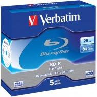 Verbatim 43753 BD-R 25GB 5ks