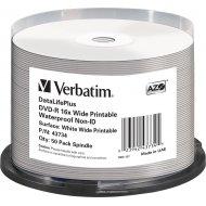 Verbatim 43734 DVD-R 4.7GB 50ks