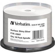 Verbatim 43647 DVD-R 4.7GB 50ks