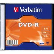 Verbatim 43547 DVD-R 4.7GB 20ks