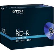 TDK t78008 BD-R 25GB 5ks