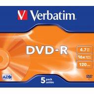 Verbatim 43519 DVD-R 4.7GB 5ks