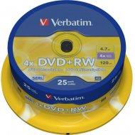 Verbatim 43489 DVD+RW 4.7GB 25ks