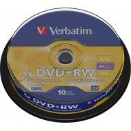 Verbatim 43488 DVD+RW 4.7GB 10ks