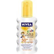Nivea Sun Kids Pure & Sensitive SPF50 Sun Spray 200ml