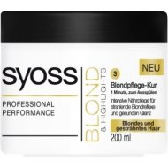 Syoss Blond & Highlights 1 Minute Mask 200ml