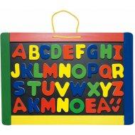 Woody Magnetická tabuľa s písmenkami