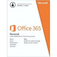 Microsoft Office 365 Personal SK 32/64bit Medialess 1r.