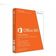 Microsoft Office 365 Home Premium CZ 32/64bit Medialess 1r.