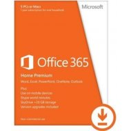 Microsoft Office 365 Home Premium ENG 32/64bit Medialess 1r.