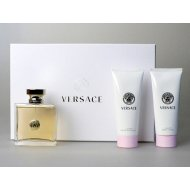 Versace Eau De Parfum parfémovaná voda 50ml + telové mlieko 50ml + sprchový gel 50ml