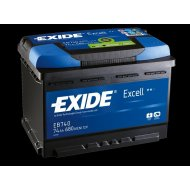 Exide Excell 74Ah