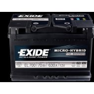Exide Micro-Hybrid ECM 70Ah