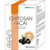 Edenpharma Chitosan + Acai 120kps