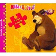 Máša a medveď - Kniha s puzzle