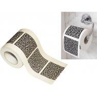 Toaletný papier bludisko