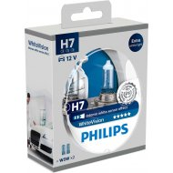 Philips H7 WhiteVision PX26d 55W 2ks