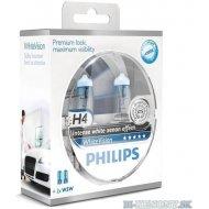 Philips H4 WhiteVision P43t 60/55W 2ks