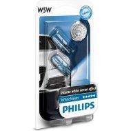 Philips W5W WhiteVision W2.1x9.5d 5W 2ks