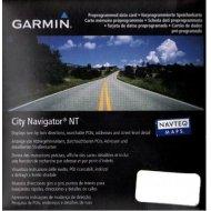 Garmin City Navigator Europe NT microSD/SD