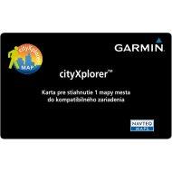 Garmin cityXplorer Card