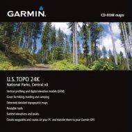 Garmin U.S. TOPO 24K National Parks Central