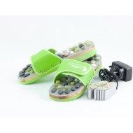 CatMotion Vyhrievané masážne papuče s prírodnými kameňmi