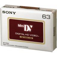 Sony DVM63HDV miniDV 63min 1ks