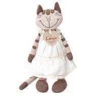 Lumpin Mačka Angelique v šatách