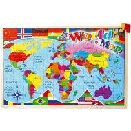 Rakonrad Mapa sveta