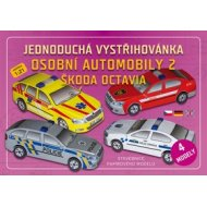 Osobní automobily 2 Škoda Octavia - jednoduchá vystřihovánka
