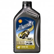 Shell Advance 4T Ultra 15W-50 1L