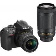 Nikon D3400 + 18-55 AF-P VR + 70-300 VR