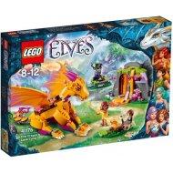 Lego Elves - Lávové jaskyne ohnivého draka 41175