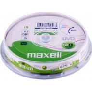 Maxell DVD+R Dual Layer 8.5GB 10ks