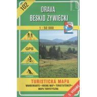 Orava - Beskid Zywiecki - turistická mapa č. 102