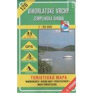 Vihorlatské vrchy - Zemplínska šírava - turistická mapa č. 126