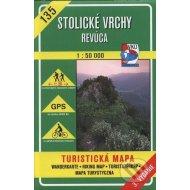 Stolické vrchy - Revúca - turistická mapa č. 135