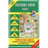 Volovské vrchy - Košice - turistická mapa č. 136