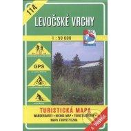 Levočské vrchy - turistická mapa č. 114