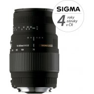 Sigma 70-300mm f/4-5.6 DG Macro Canon