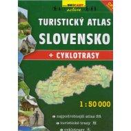 Turistický atlas SLOVENSKO 1:50 000