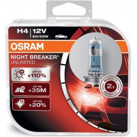 Osram H4 Night Breaker Unlimited P43t 60/55W 2ks