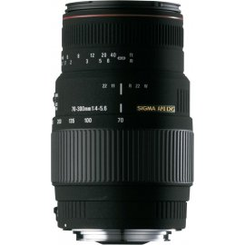 Sigma 70-300mm f/4-5.6 APO DG Macro Canon