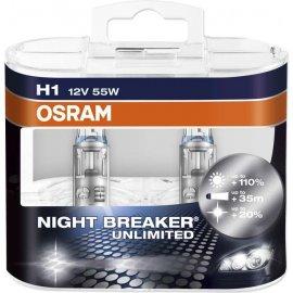 Osram H1 Night Breaker Unlimited P14.5s 55W 2ks
